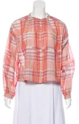 Ulla Johnson Long Sleeve Button-Up Top