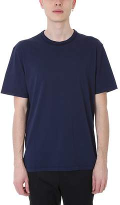 Mauro Grifoni Blue Cotton T-shirt