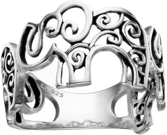 Primrose PRIMROSE Sterling Silver Elephant Ring