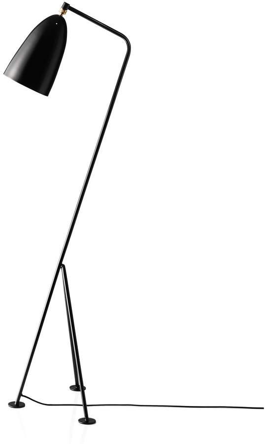 Gubi - Gräshoppa Stehleuchte GM1, Schwarz (jet black) (EU)