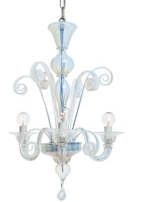 ABC Home Modern 3-Light Chandelier Opal