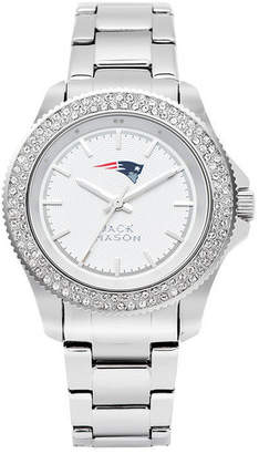 Jack Mason Women's New England Patriots Glitz Sport Bracelet Watch