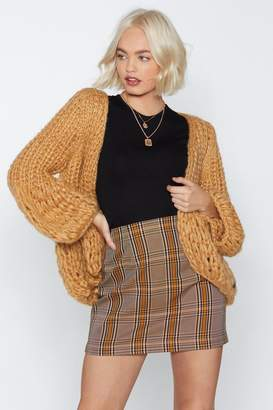 Nasty Gal Get On With Knit Cardigan