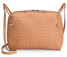 Bottega Veneta Pillow Intrecciato Leather Crossbody Bag