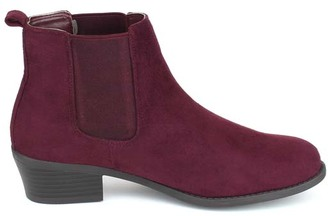 Burgundy Tildon Ankle Boot $39.99 thestylecure.com