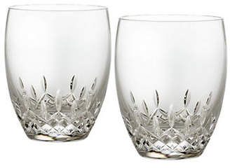 Waterford Wedgwood Lismore Essence Double Old Fashioned Set Of 2