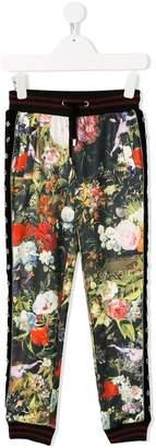 John Richmond Junior floral print track pants