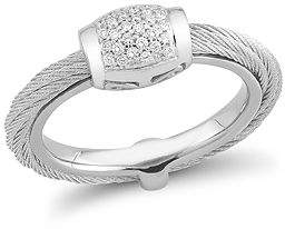 Alor Diamond Cable Ring