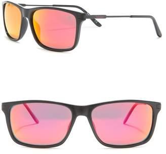 Timberland Rectangular 58mm Sunglasses
