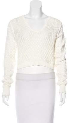 Thakoon Knit Crop Sweater