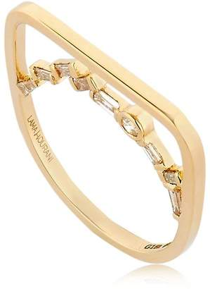Mosaic Ring With Diamonds