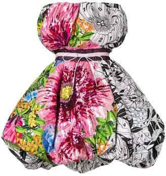 floral print bubble dress