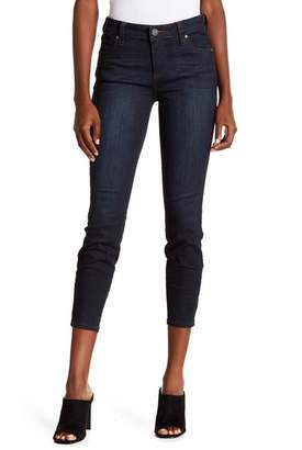 KUT from the Kloth Connie Zip Back Skinny Ankle Jeans