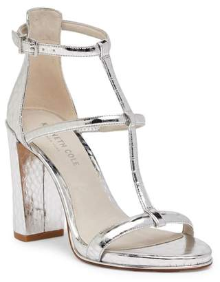 Kenneth Cole New York Deandra Metallic Ankle Strap Heel