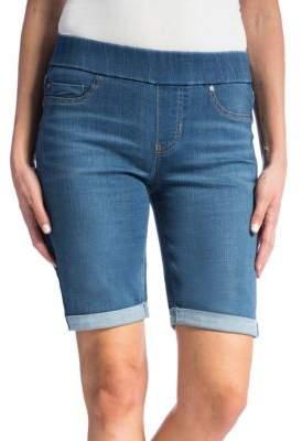 Liverpool Jeans Sienna Pull-On Denim Shorts