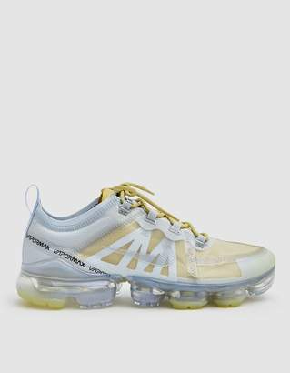 huge selection of c0ac3 b78d6 Nike VaporMax 2019 PRM Sneaker in Celery Metallic Silver