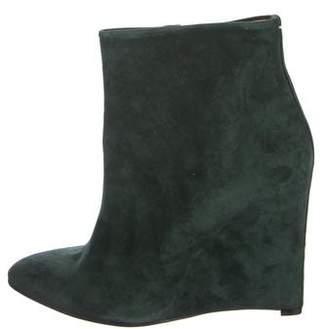 Maison Margiela Cutout Wedge Ankle Boots