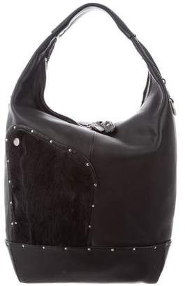 Ghurka Studded Leather Bag