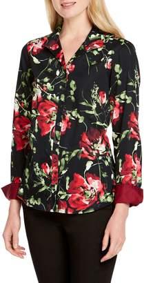 Foxcroft Rhonda Dreamy Floral Shirt