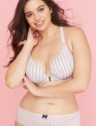 4b0a3968d8 Lane Bryant Front-Close Smooth Boost Plunge Bra