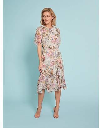 32259f25e Gina Bacconi Estera Floral Chiffon Dress
