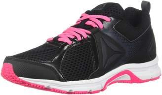Reebok Women's Runner 2.0 MT Running Shoes, Black/Coal/ Acid Pink/White