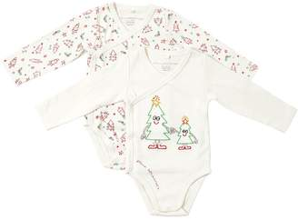 Stella McCartney Set Of 2 Cotton Interlock Bodysuits