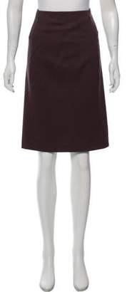 Bottega Veneta Wool Knee-Length Skirt