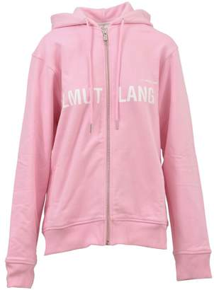 Helmut Lang Oversized Pink Hoodie