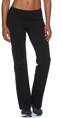 Women's Tek Gear® Shapewear Flared Workout Pants $44 thestylecure.com