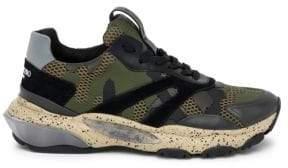 Valentino Camo Bounce B35 Sneakers