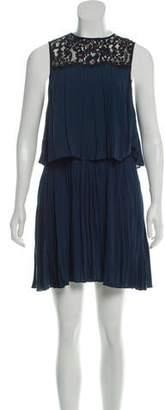 Rachel Zoe Pleated Tiered Dress