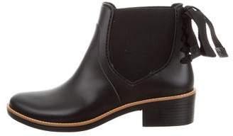 Bernardo Rubber Ankle Boots w/ Tags