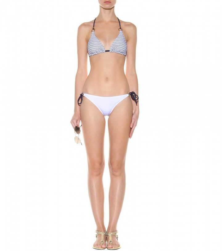 Heidi Klein Ile De Re Ring triangle bikini
