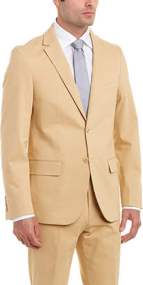 Enzo Suit With Flat Front Pant