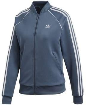 Trainingsjacken Originals SST TT Damen Jacke Blau