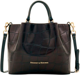 Dooney & Bourke Large Croc Large Barlow