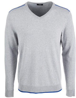 Alfani Men's Tipped V-Neck Sweater