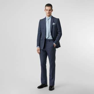 Burberry Classic Fit Wool Mohair Tailored Trousers