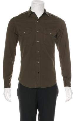 Ralph Lauren Black Label Woven Military Shirt