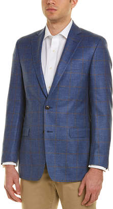 Brooks Brothers Regent Fit Wool, Silk, & Linen-Blend Sport Coat