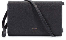 Tom Ford Leather Flap Wallet on Strap