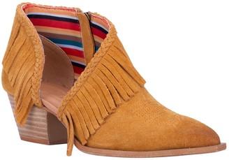Dingo Leather Open-Side Boots - Kindred Spirit
