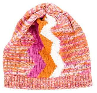 Pre-Owned at TheRealReal · Missoni Zig-Zag Knit Beanie 4e8f5a1c5a1d