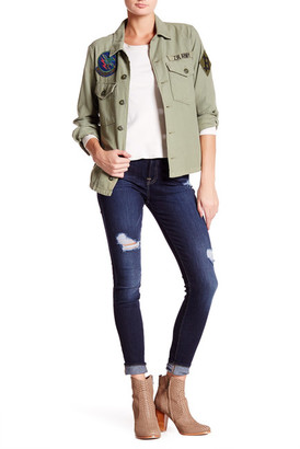 7 For All Mankind The Gwenevere Skinny Jean $215 thestylecure.com