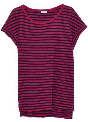 Splendid Striped Stretch-Jersey Top