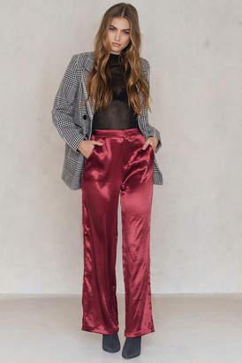 Na Kd Party Metallic Flared Pants