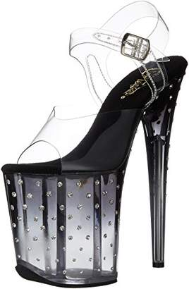 Pleaser USA Women's Stdus808t/C/B-C Platform Dress Sandal