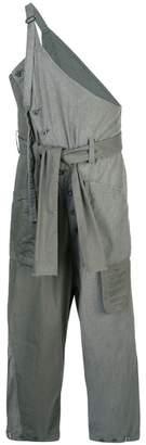 The Viridi-anne asymmetric pinafore trousers