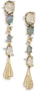 Alexis Bittar Elements Dangling Crystal & 10K Yellow Gold Drop Earrings